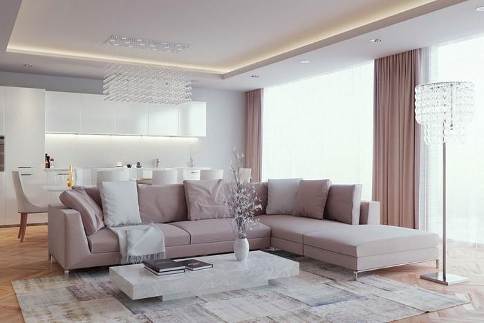 Интересные идеи для гостиной_10