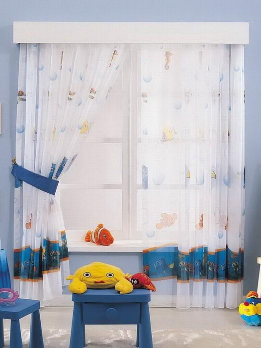 Шторы  Шторы в детской комнате