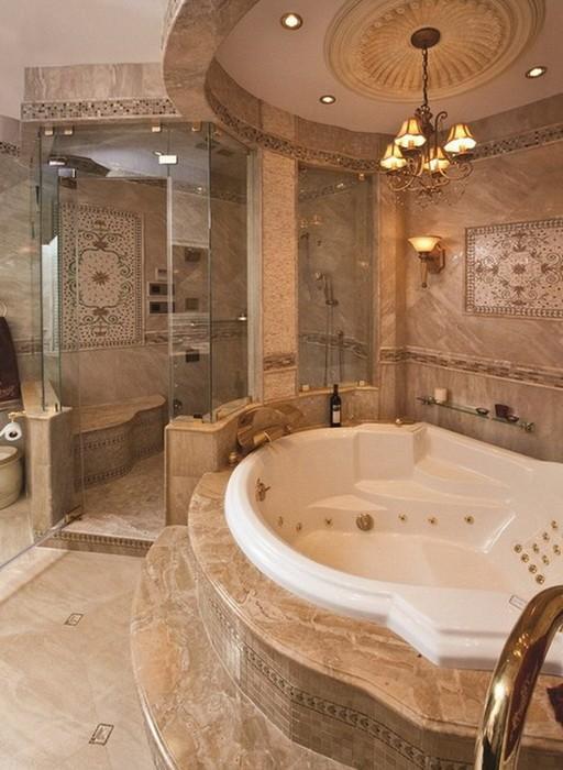 Ванная в классическом стиле_11
