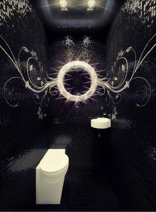 Маленькие ванные и туалетные комнаты_06