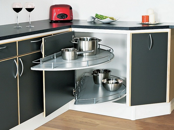 Карусель для углового кухонного шкафа своими руками