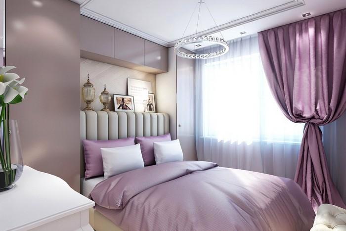 Покраска стен в спальне_09