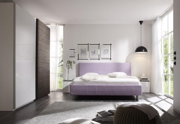 Покраска стен в спальне_10