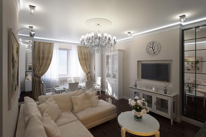 Расстановка мебели в гостиной_13