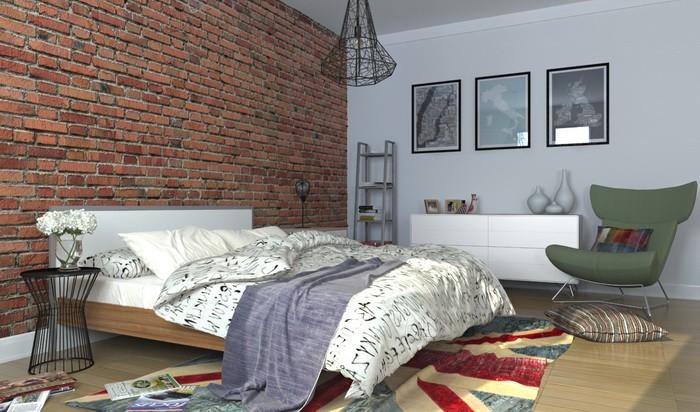Скандинавский стиль  Скандинавский стиль в спальне