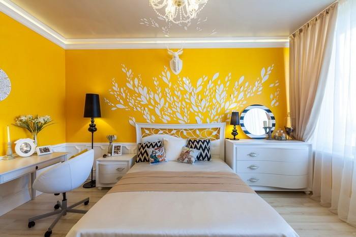Желтый цвет для спальни_02