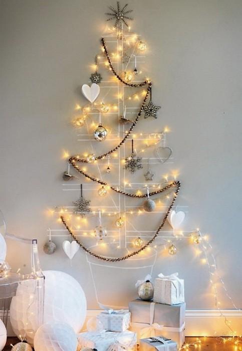 Как сделать новогоднюю елку своими руками_12
