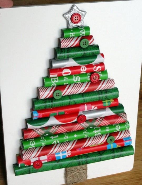 Как сделать новогоднюю елку своими руками_14