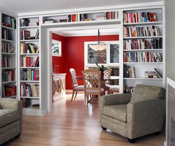 Как сделать большой стеллаж для книг