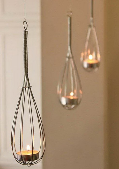 Светильники из кухонных принадлежностей_1