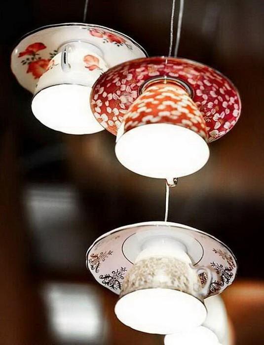 Светильники из кухонных принадлежностей_2