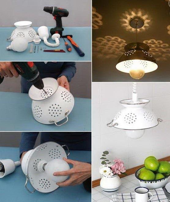 Светильники из кухонных принадлежностей_3.3.