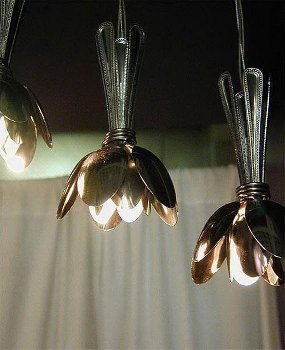 Светильники из кухонных принадлежностей_4