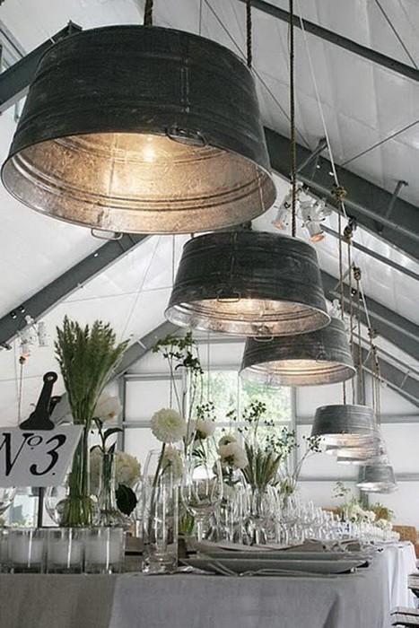 Светильники из кухонных принадлежностей_9