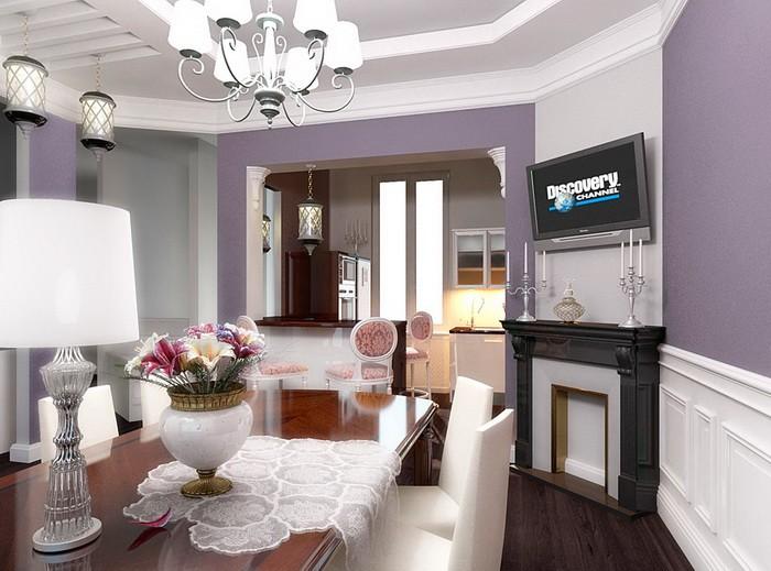 Интерьер гостиной-столовой_15