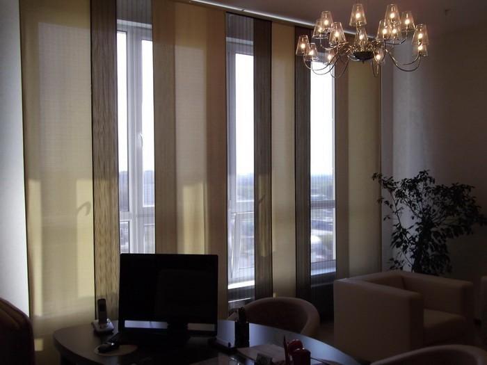 Шторы для комнаты с низкими потолками_01