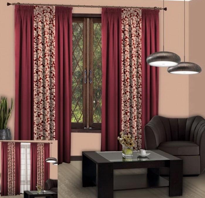 Шторы для комнаты с низкими потолками_04