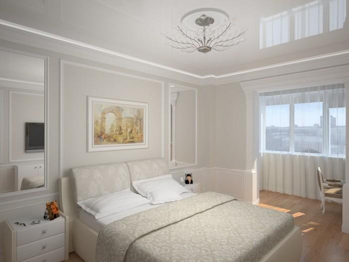 Увеличить пространство комнаты с помощью обоев 9
