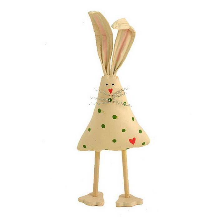 Декор к пасхальному столу   заяц из салфетки