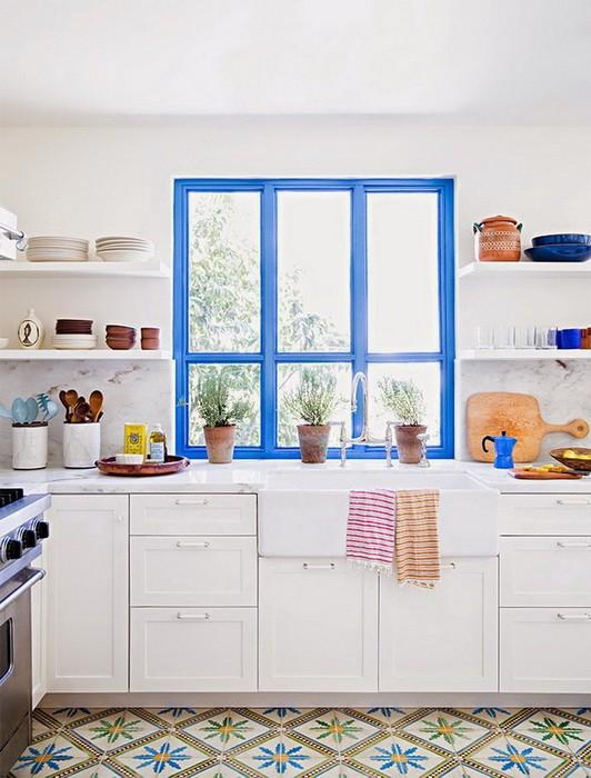 Интерьер кухни   обновление без ремонта