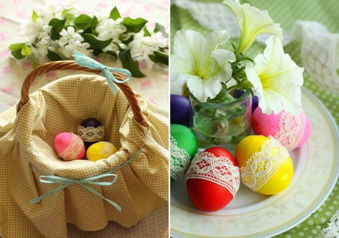 Несколько идей пасхального декора яиц