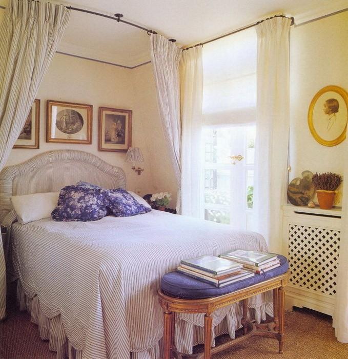 Спальня   как обновить без ремонта