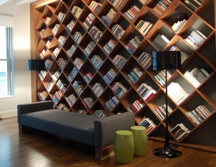 Хранение книг несколько интересных идей_05
