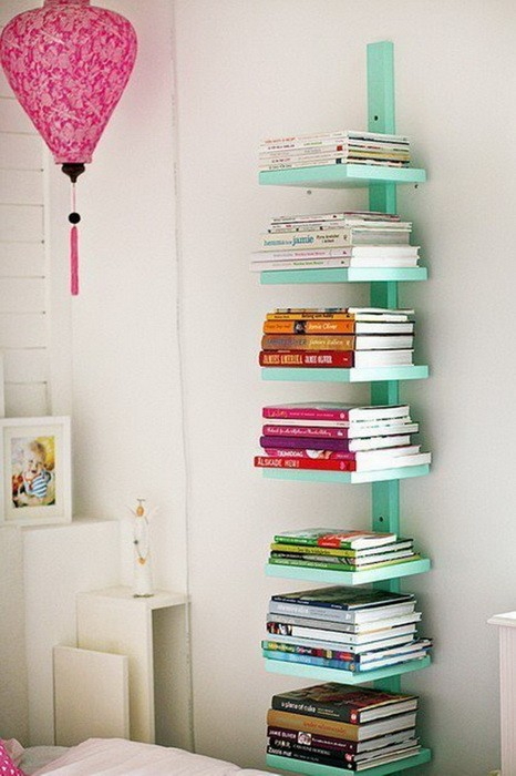 Хранение книг несколько интересных идей_17