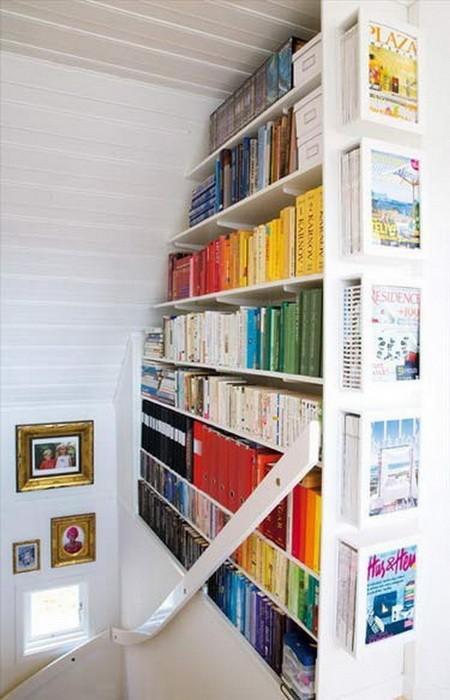 Хранение книг несколько интересных идей_23
