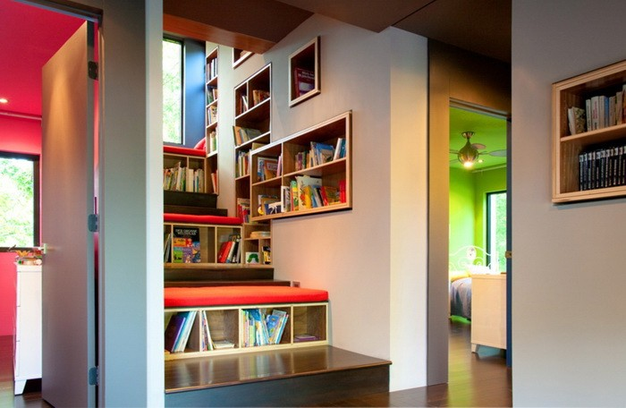 Хранение книг несколько интересных идей_27