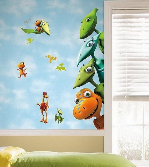 Идеи для стен в детской