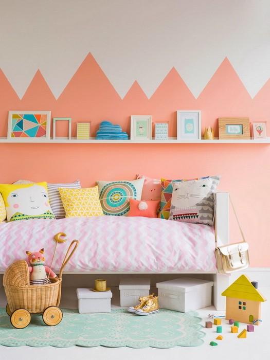 Несколько идей оформления стен в детской