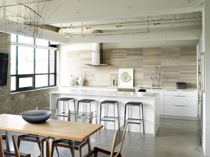 Кухня в стиле лофт_01