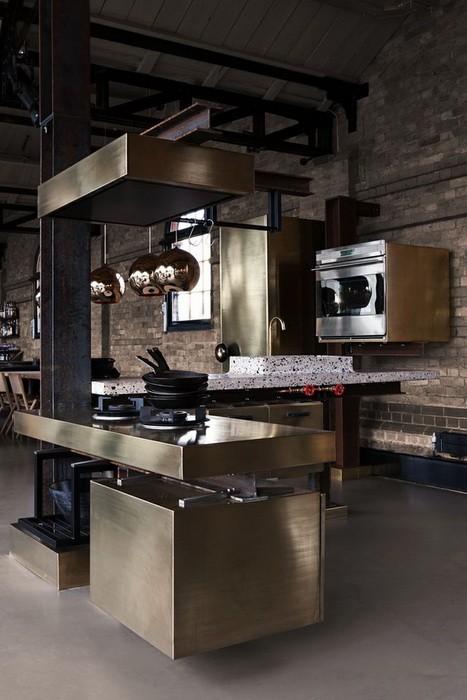 Кухня в стиле лофт_02