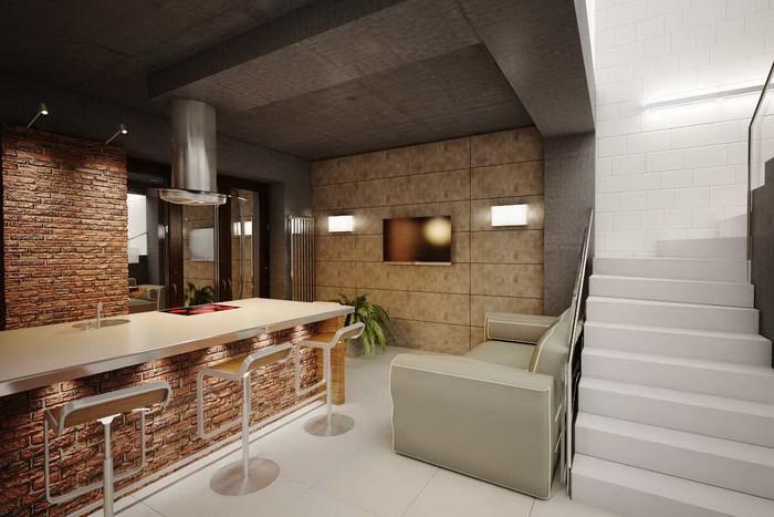 Кухня в стиле лофт_13
