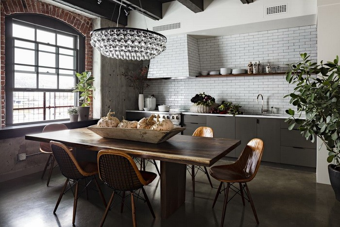 Кухня в стиле лофт_15