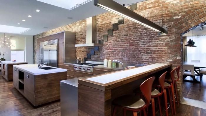 Кухня в стиле лофт_22