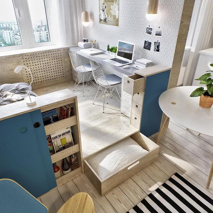 Рабочая зона в гостиной_10