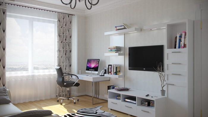 Рабочая зона в гостиной_17