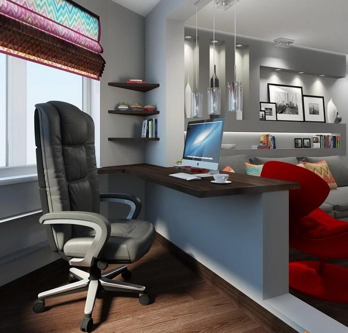 Рабочая зона в гостиной_26