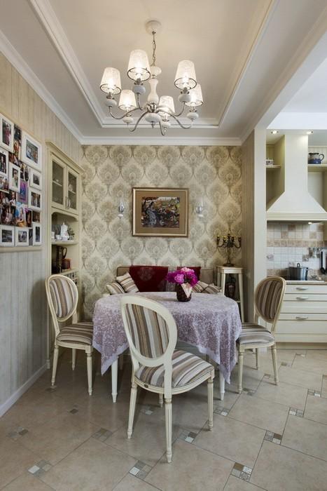 Маленькая Классический стиль  Классика в маленькой квартире