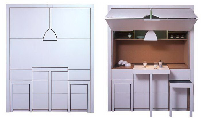 Мебель-трансформер в интерьере _38