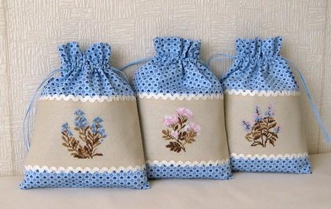 Красивые мешочки для трав8
