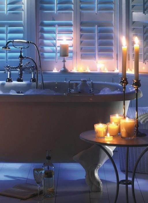 Свечи в декоре интерьера