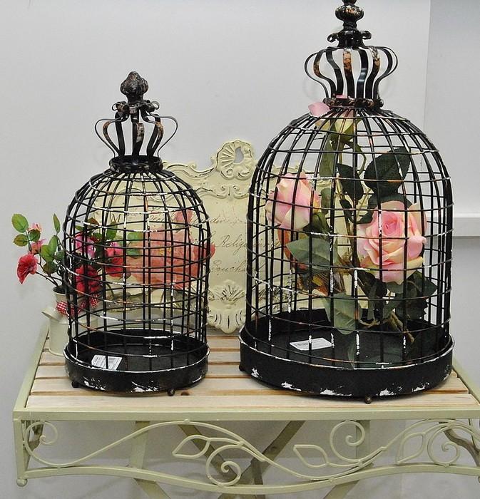 Птичьи клетки в декоре интерьера