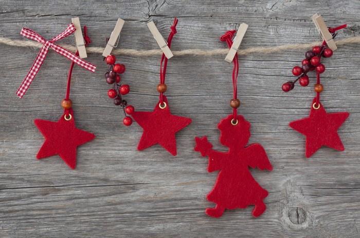 Гирлянда рождественская своими руками