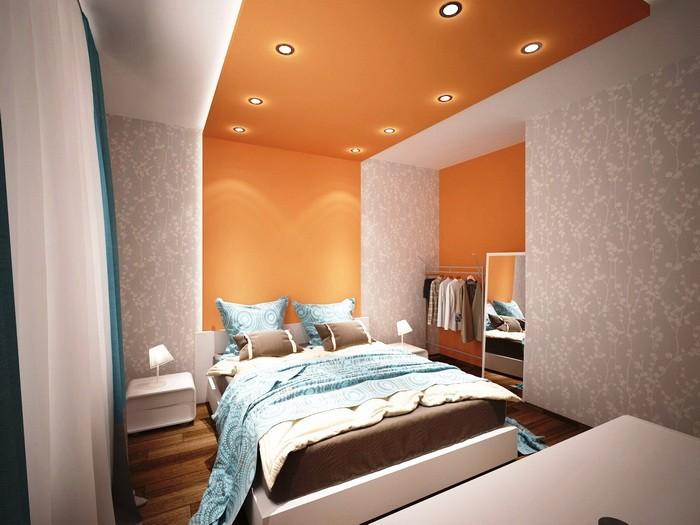 Акцентная стена в интерьере спальни_17