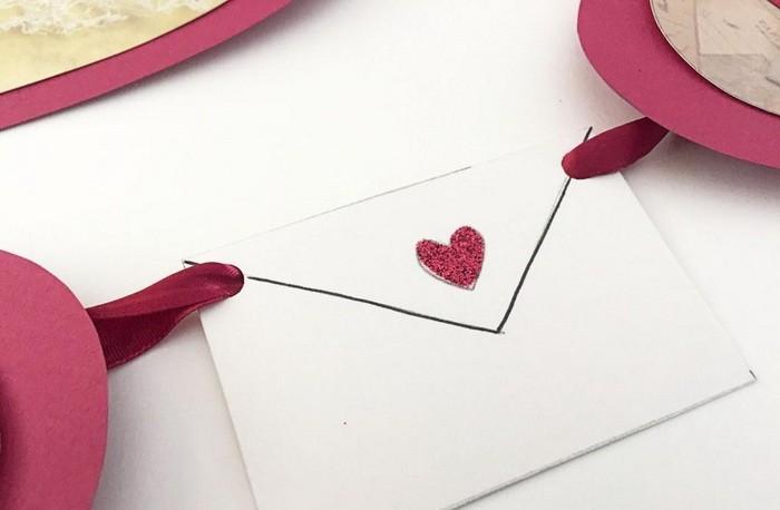 Сердечки из бумаги своими руками гирлянда