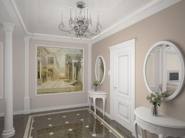 Классический стиль  Отделка интерьера в классическом стиле
