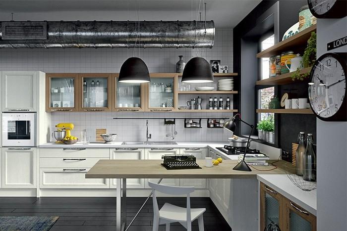 News Популярные стили в дизайне кухни